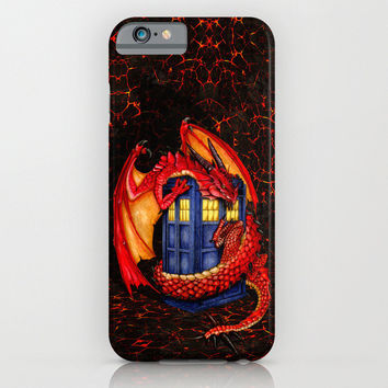 Tardis dr who Wyvern smaug The Hobbits iPhone, Samsung case, Samsung Galaxy, HTC iphone case