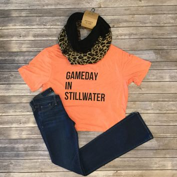 OSU Gameday in Stilwater T-shirt