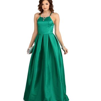 Aida- Emerald Formal Dress