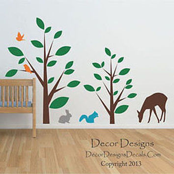 Animal Forest Wall Decal