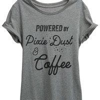 Powered By Pixie Dust and Coffee