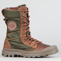 The Pampa Tactical Boot in Bridle Brown & Olive Drab