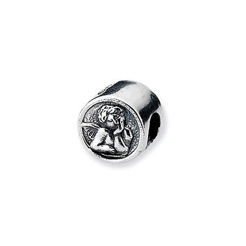 Sterling Silver Angel Bead Charm