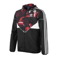 """Adidas"" Fashionable Men Women Casual Hooded Zipper Cardigan Sweatshirt Jacket Coat Windbreaker Sportswear"