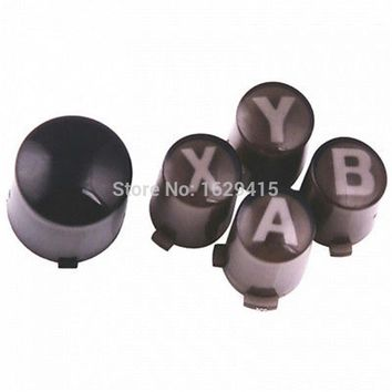 IVYUEEN Custom ABXY & Guide Buttons Mod Kit for Xbox 360 Wireless / Wired Controller Repair Parts A B X Y Button