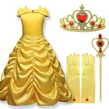 Princess Dresses For Girls Little Girl Halloween Costume