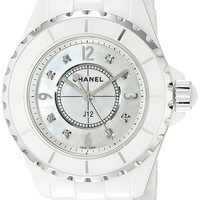 Chanel Women's H2422 Analog Display Quartz White Watch