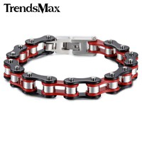 Stainless Steel  Motorcycle Bracelet