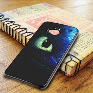 How To Train Your Dragon 2 Toothless Blue HTC One M7 Case