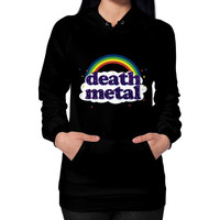 Death metal Hoodie (on woman)