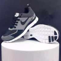 "Fashion ""NIKE"" Women Men Running Sport Casual Shoes Sneakers"