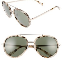KENDALL + KYLIE Jules 58mm Aviator Sunglasses | Nordstrom