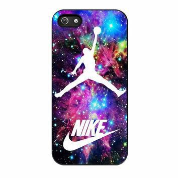 Michael Jordan On Galaxy Nebula New Custom iPhone 5 Case