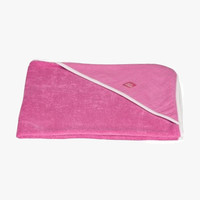 Imps and Elfs Girls Hooded Towel in Raspberry - 4032 - FINAL SALE