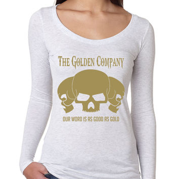 Golden Company Our word is good as gold Women long sleeve shirt