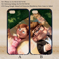 Carl and Ellie Couple Case UP,Custom Case,iPhone 6+/6/5/5S/5C/4S/4