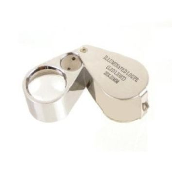 SE - Loupe - LED Illuminated, 20x, 21mm - MJ3621L