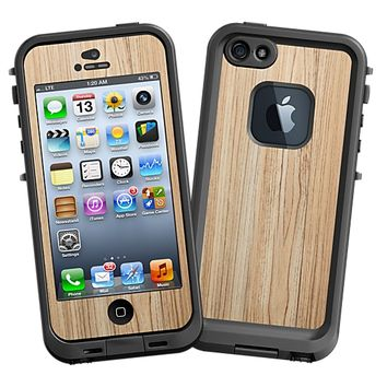 Swamp Ash Skin for the iPhone 5 Lifeproof Case by skinzy.com