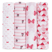 Minnie Mouse Muslin Swaddles Set by aden by aden + anais® | Disney Store