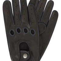 Men's Original Penguin Sheepskin Leather Driving Gloves,