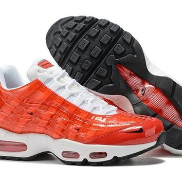 Nike Air Max 95 Fashion Running Sneakers Sport Shoes Red