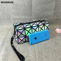 DCCKLG2 WUSWUX New Laser Diamond Makeup Bag