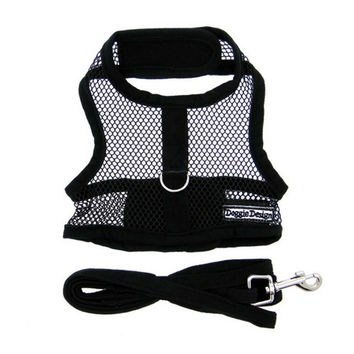Cool Netted Mesh Harness — Black