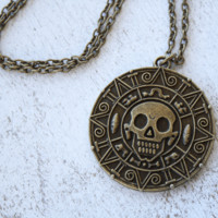 Pirate Coin Necklace - Fandom Geeky Jewelry at Rock & Luna