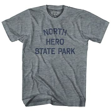 Vermont North Hero State Park Adult Tri-Blend Vintage T-shirt