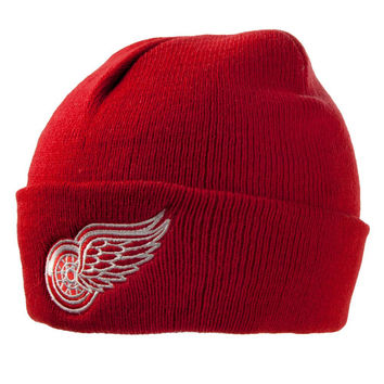 Detroit Red Wings - Logo Adult Knit Hat