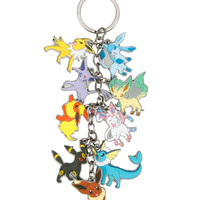 Pokemon Eevee Evolutions Charm Key Chain