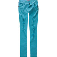 TINSEL TOWN Destructed Womens Skinny Jeans 193403240 | Skinny | Tillys.com