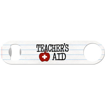 Teacher's Aid - Funny Bottle Opener