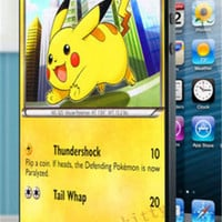 Pokemon pikachu card cover case for i4 4s 5 5s 5c SE 6 6s 6Plus & 6S plus #ES470