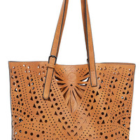 Party Flavor Tan Tote