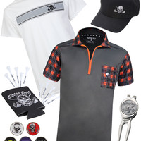 The Par 5 - GT Hazard Men's Tattoo Bundle