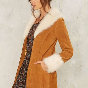 Stillwater Vegan Suede Coat