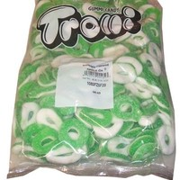 Trolli Fat Free Gummi Candy, Apple O'S, 4-Pound Bag