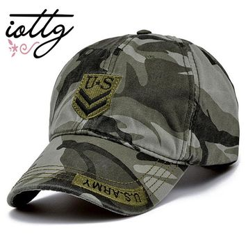 IOTTG 2017 Latest US Air Force One Men Baseball Cap High Quality Marine Corps Camo Snapback Hat Casual Cap Truck Driver Cap