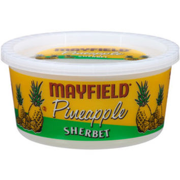 Walmart: Mayfield Pineapple Sherbet, 1 qt