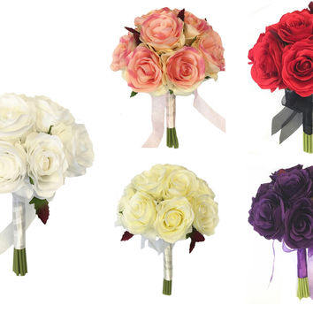 "7.5"" Bouquet-Pick Rose Color"