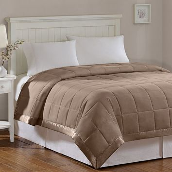 Madison Park Solid 3M Down-Alternative Blanket - Full/Queen