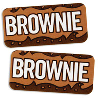 Brownie Bakery Labels