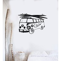 Wall Sticker Vinyl Decal Hippie Car Recreation Tourism Beach Relax Unique Gift (ig1934)