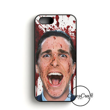 Christian Bale American Psycho Movie iPhone 5/5S/SE Case