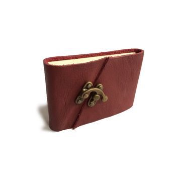 Soft Leather Journal with Latch