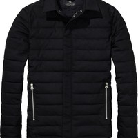 Quilted Wool Puffer Jacket by Scotch & Soda