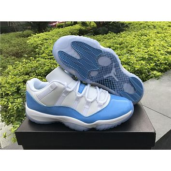 1abb1a8402c47c Air Jordan retro 11 XI University blue low UNC men women basketb
