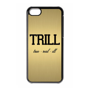 Design Custom Trill Hip - Hop Asap Rocky Drake Gold Texture for Your Phone Device