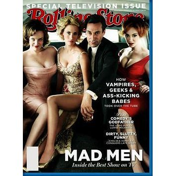 Mad Men Rolling Stone Cover Poster Standup 4inx6in